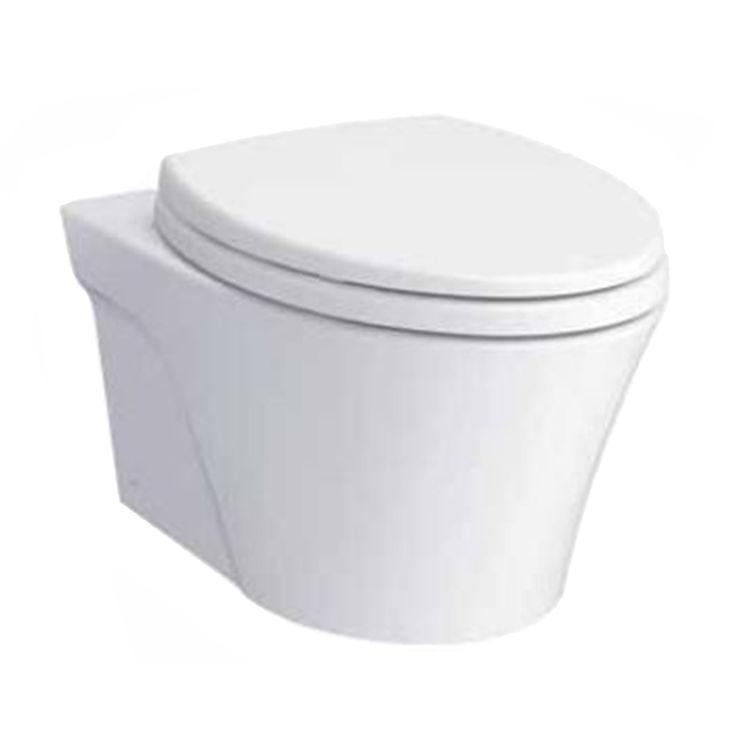 Toto CT426CFG#01 TOTO AP Wall-Hung Toilet Bowl - 1.28 GPF/0.9 GPF, CT426CFG#01 - Cotton
