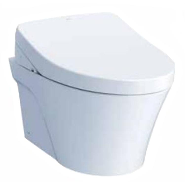 Toto CT426CFGT40#01 TOTO AP Wall-Hung Toilet Bowl - 1.28GPF/0.9GPF, CT426CFGT40#01 - Cotton