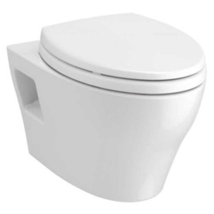 Pleasant Toto Ep Washlet S550E Wallhung Toilet 1 28 Gpf 0 9 Gpf Auto Flush Cwt4283056Cmfgams Matte Silver Ncnpc Chair Design For Home Ncnpcorg