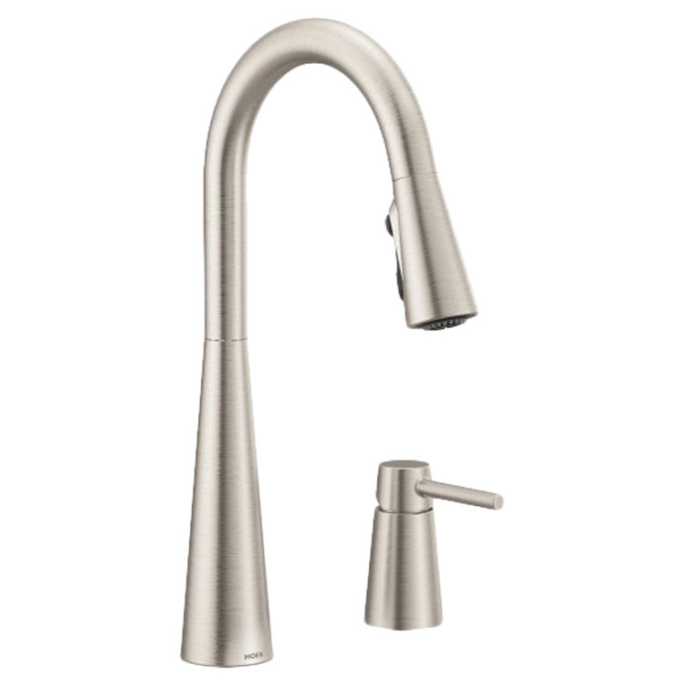 Moen 7871srs Sleek Single Handle Pulldown Kitchen Faucet Spot Resist Stainless