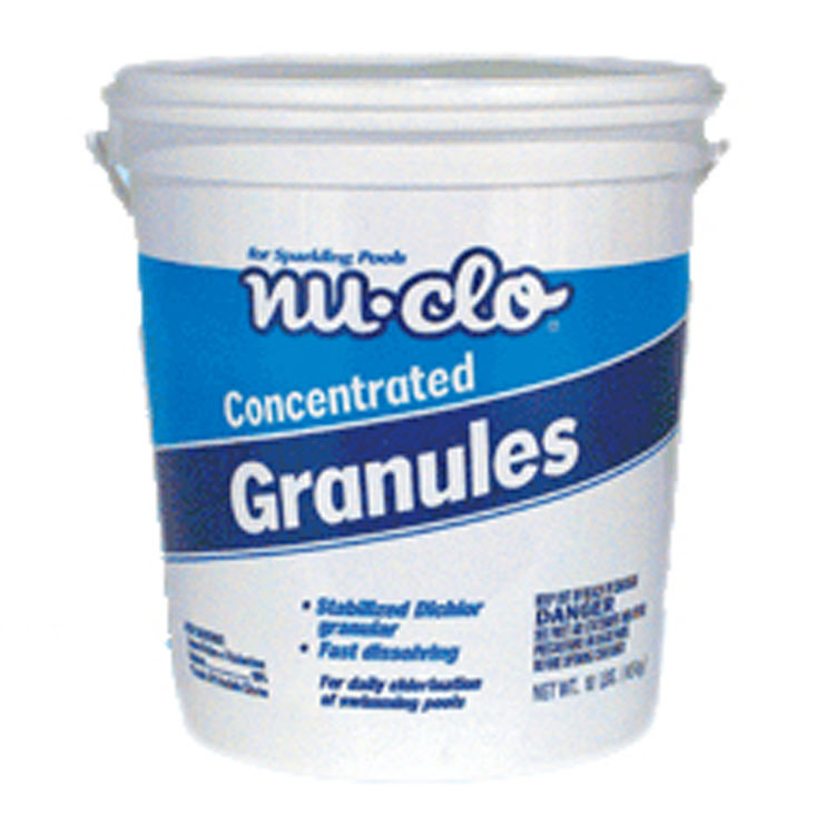 4 Pound Granulated Chlorine for Spas