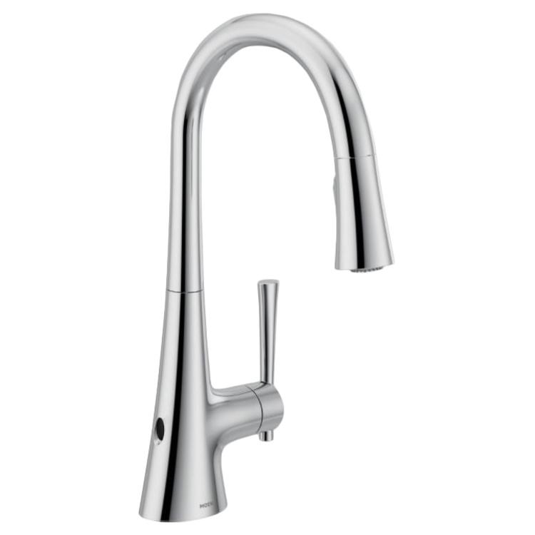9126EWC Kurv kitchen faucet in chrome