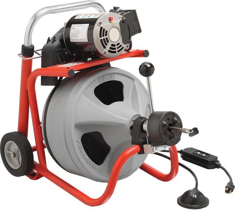 Ridgid 27013 Model K 400 Af Autofeed Drum Drain Clean