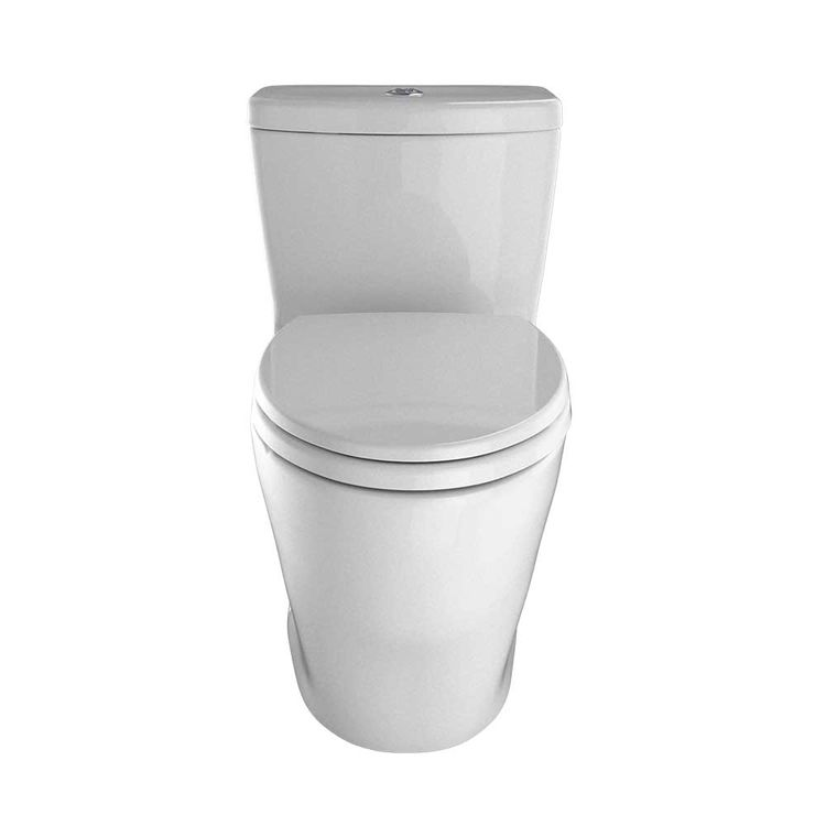 View 3 of Toto MS654114MF#11 TOTO Aquia One-Piece Elongated Dual-Max, Dual Flush 0.9 & 1.6 GPF Universal Height Skirted Toilet, Colonial White - MS654114MF#11