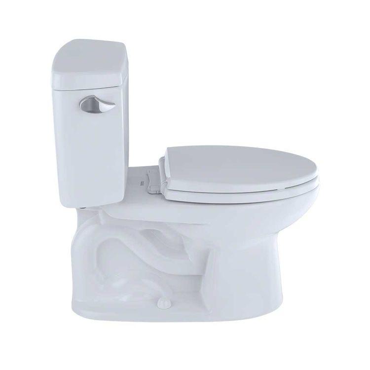 View 5 of Toto CST744S#01 TOTO Drake Two-Piece Toilet - 1.6 GPF , Elongated, Cotton White - TOTO CST744S#01