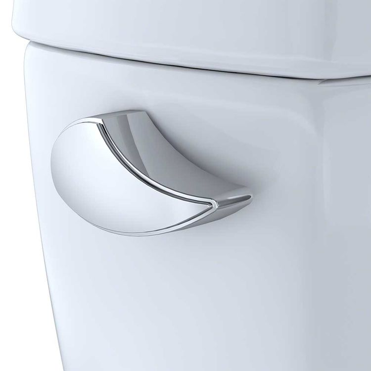 View 3 of Toto ST743SR#01 TOTO Drake G-Max 1.6 GPF Toilet Tank with Right-Hand Trip Lever, Cotton White - ST743SR#01