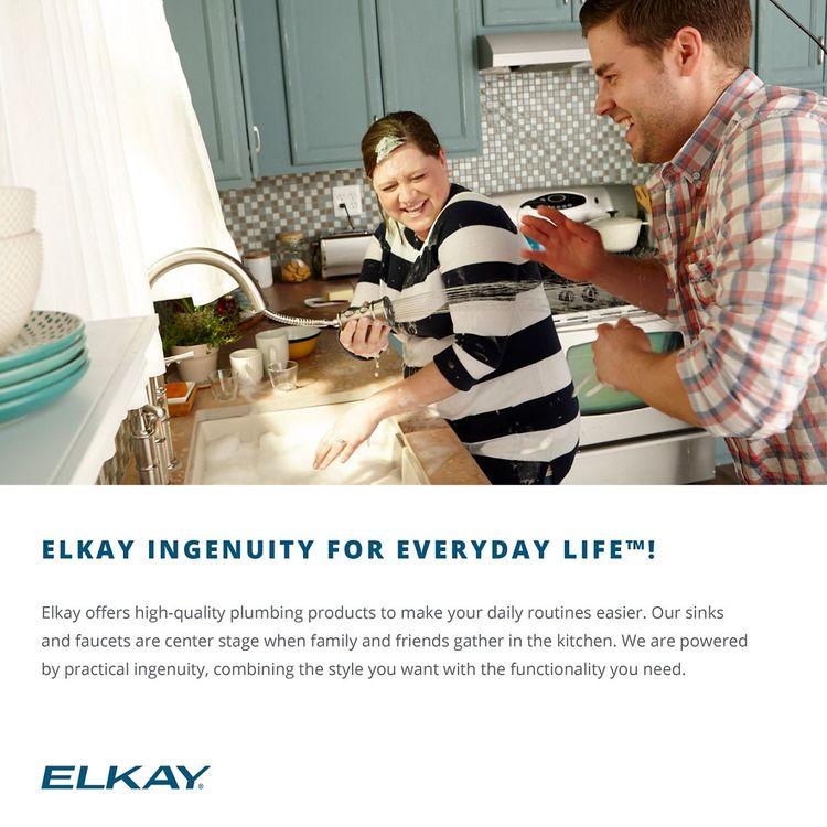 View 6 of Elkay EGUH2118 Elkay EGUH2118 Harmony Stainless Steel Single Bowl Undermount Sink
