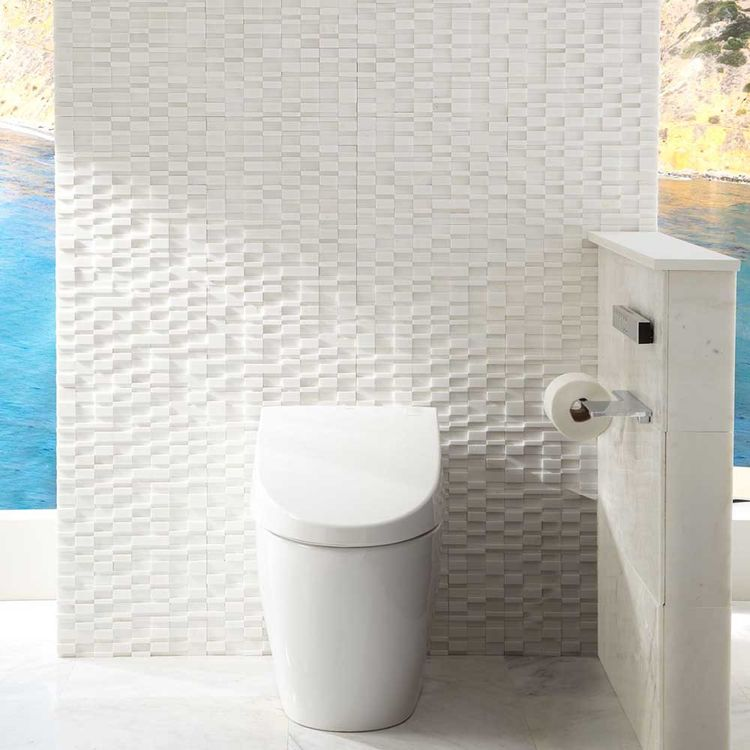 View 5 of Toto MS982CUMG#01 Toto Neorest 550H Dual Flush Toilet - 1.0 or 0.8 GPF, Cotton White - MS982CUMG#01