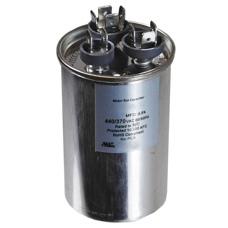 View 3 of Partners Choice 01-0272 Partners Choice 01-0272 45/10/370 Round Dual Run Capacitor