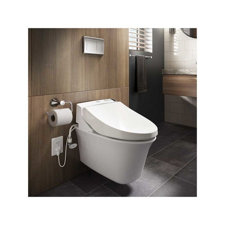 View 6 of Toto SW2044#12 TOTO WASHLET C200 SW2044#12 - Sedona Beige, Elongated