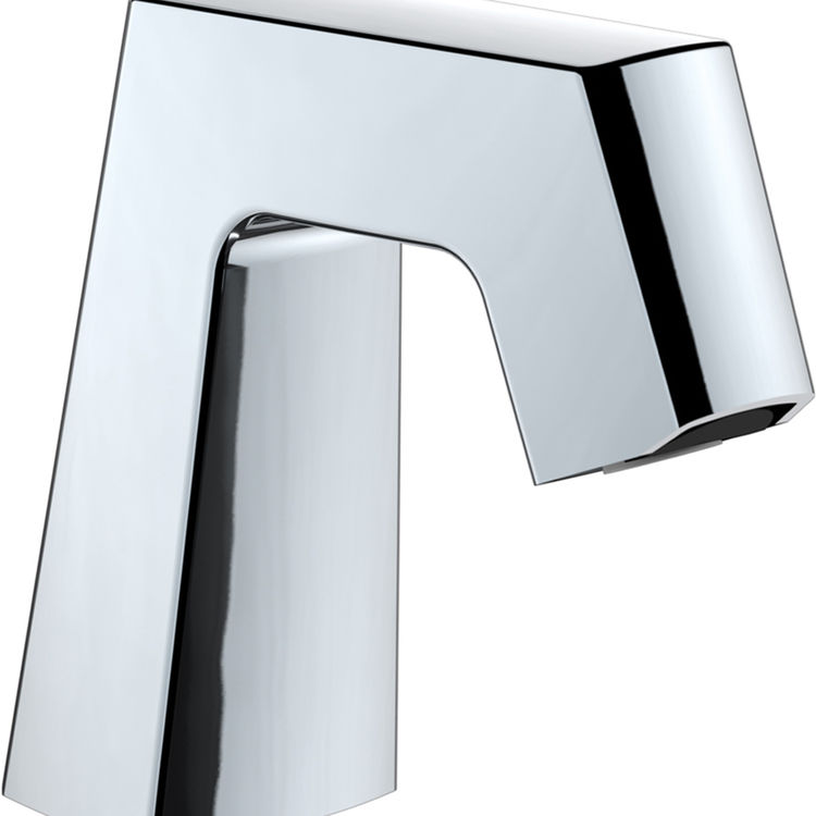 View 3 of Chicago Faucet EQ-B11B-KJKABCP Chicago Faucets EQ-B11B-KJKABCP EQ Chrome 243.146.AB.1 1.0 GPM (3.8 L/min) Aerated Cache Outlet EQ Angular Electronic Integral Spout Assembly