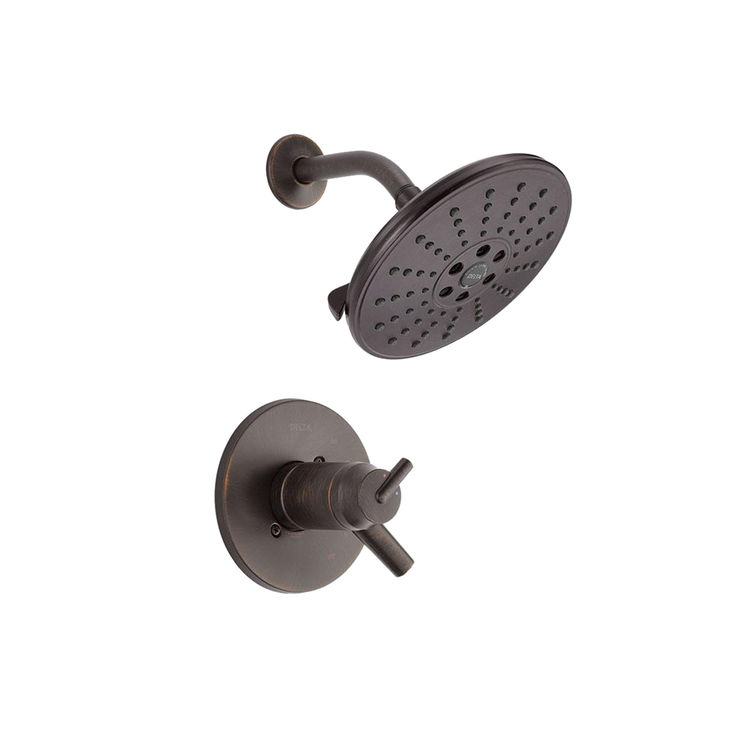 Delta T17T259-RBH2O Delta T17T259-RBH2O Venetian Bronze Tempassure Shower Only Trim