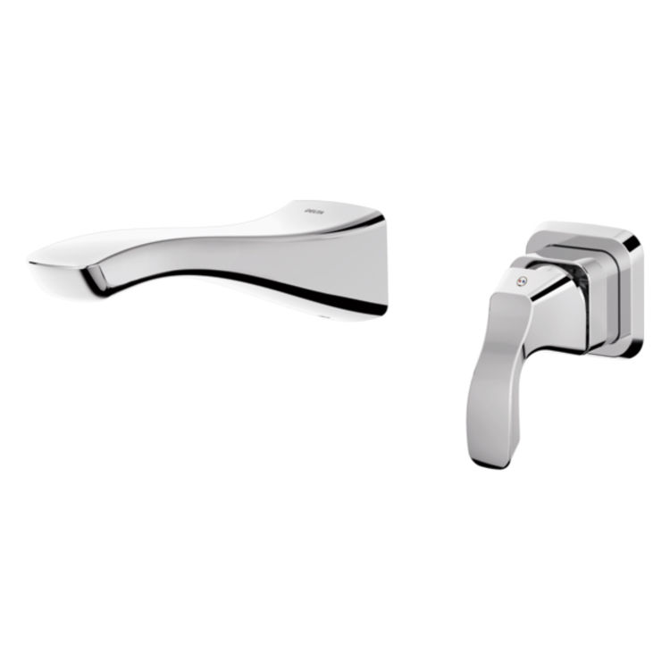 View 4 of Delta RP78744 Delta RP78744 Tesla Trim Sleeve for Wall Mount Faucet, Chrome