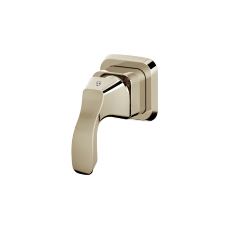 View 3 of Delta RP78747PN Delta RP78747PN Tesla Replacement Button Cover Only, Polished Nickel