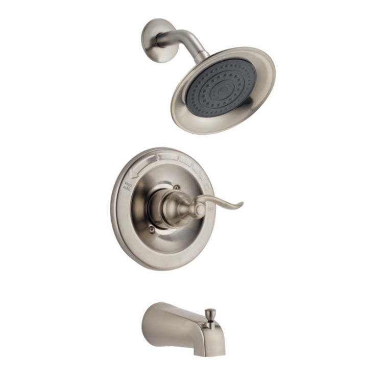 View 4 of Delta RP81273SS Delta RP81273SS WINDEMERE Slip-On Pull-Up Diverter Tub Spout - Stainless