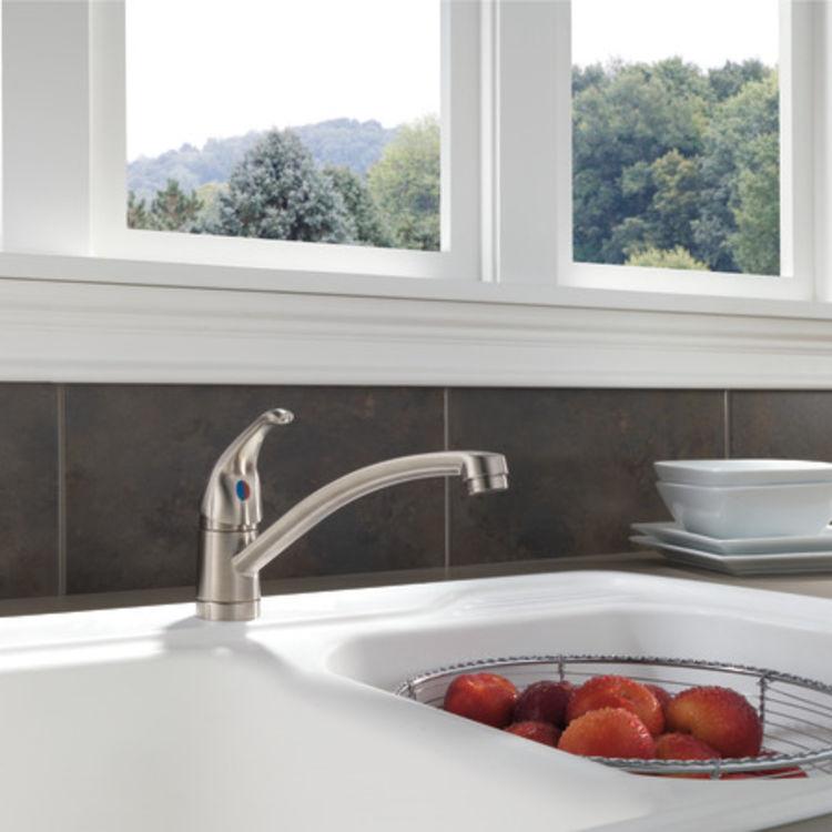 View 3 of Peerless P188201LF-SS Peerless P188201LF-SS TUNBRIDGE Single-Handle Kitchen Faucet - Stainless Steel