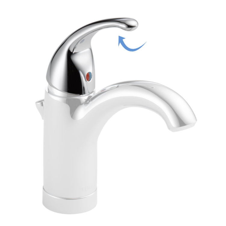 View 3 of Peerless RP79826 Peerless RP79826 Handle, Set Screw, and Button - Chrome