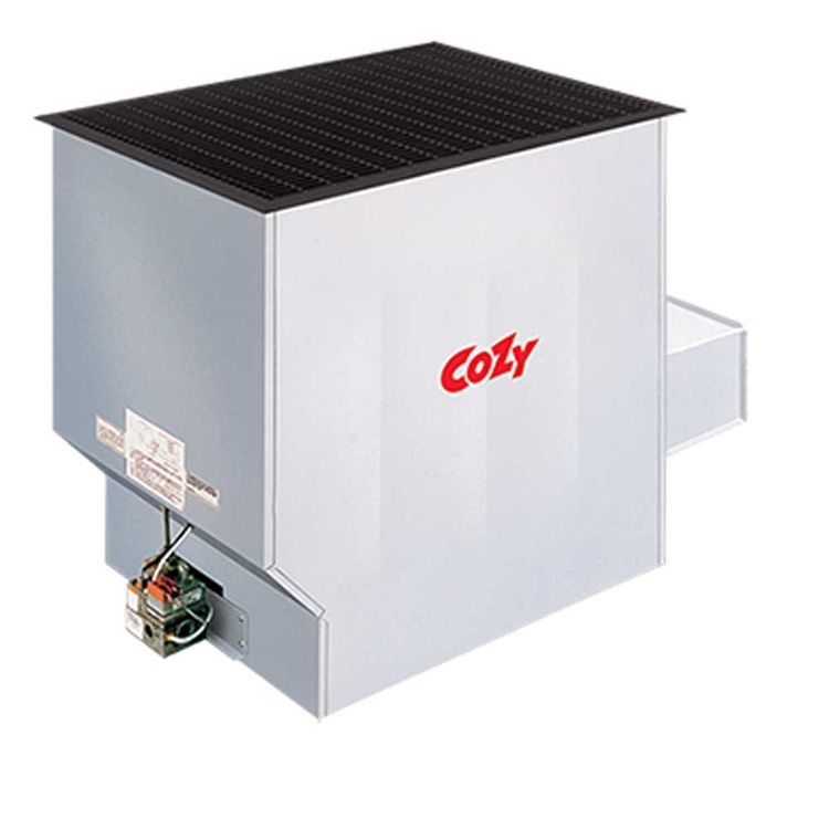 View 3 of Cozy 90N50A Cozy 90N50A Challenger Conventional-Vent Baked Enamel Furnace 50,000 BTU