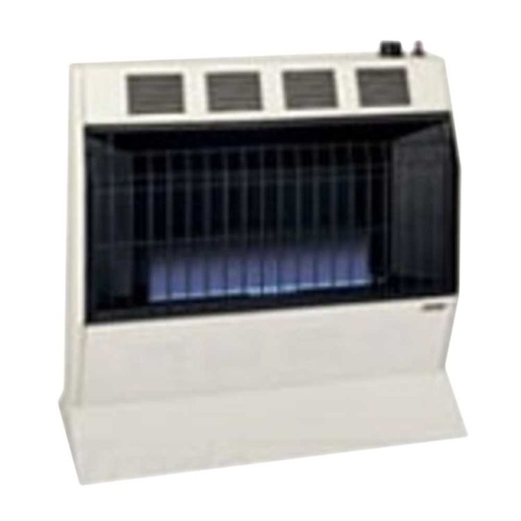 View 3 of Cozy BFT101 Cozy BFT101 10,000 BTU Vent-Free Blue Flame Heater, Neutral Bone