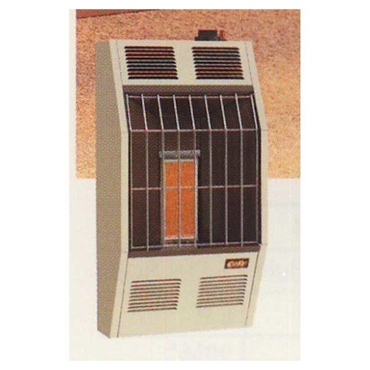 Cozy VFM63 Cozy VFM63 5,500 BTU Natural Gas Infrared Heater, Neutral Bone