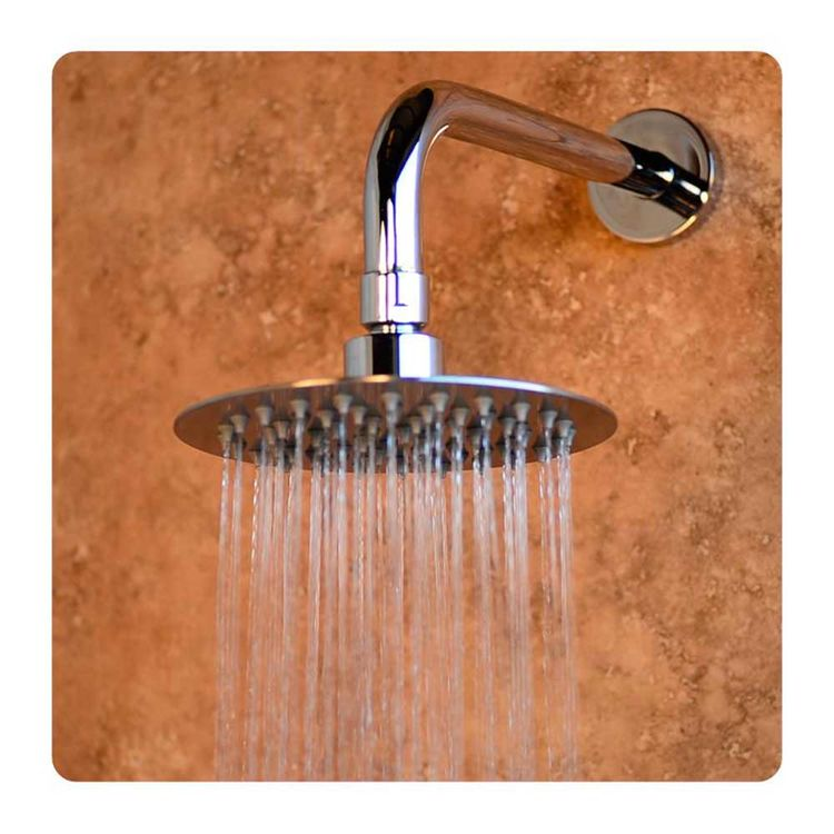 View 3 of Pulse 2001-150M Pulse 2001-150M 6-inch Island Falls Rain Fall Shower Head, Matte Stainless Steel