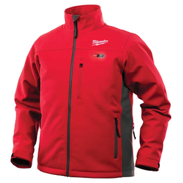 View 3 of Milwaukee 201R-20L Milwaukee 201R-20L M12 Red Heated Jacket - Large