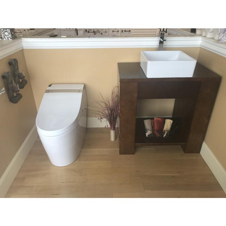 View 7 of ProStock PSBTWE1000 ProStock PSBTWE1000 Electronic Bidet w/ Integrated Elongated Toilet - White