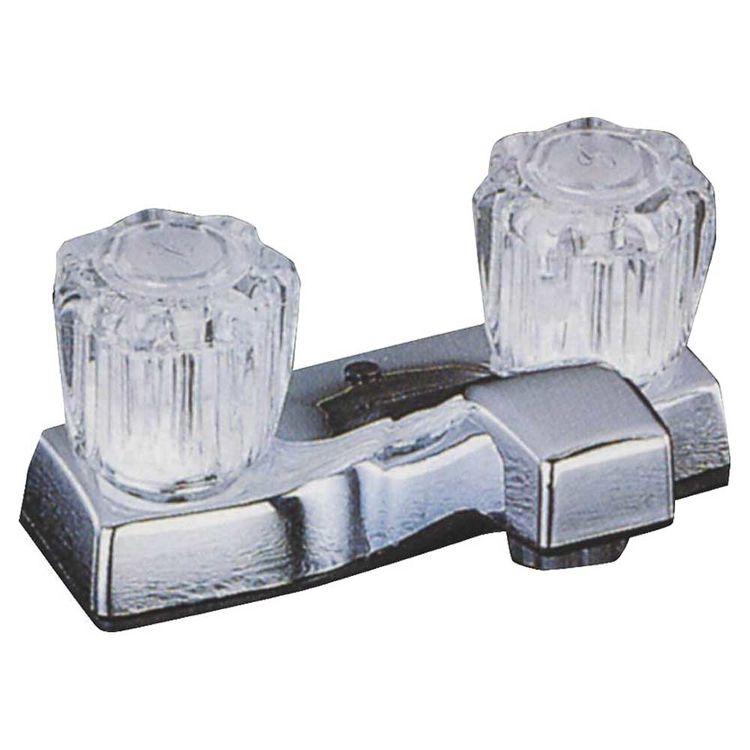 Toolbasix PF4201A Toolbasix PF4201A Lavatory Faucet, 2 Handle, Chrome