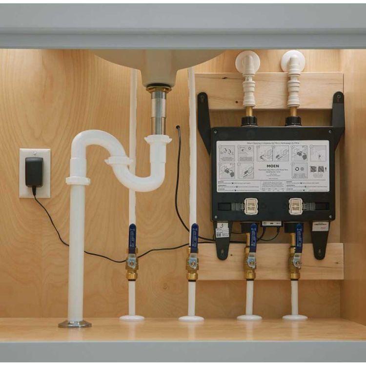 View 3 of Moen S3104 Moen U 4-Outlet Thermostatic Digital Shower Valve - U by Moen S3104