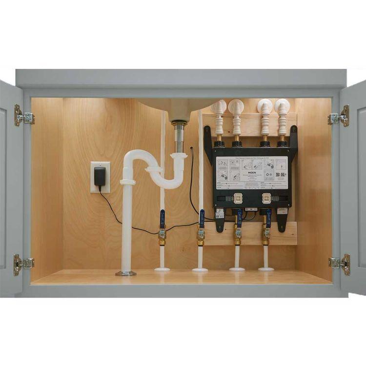 View 8 of Moen S3104 Moen U 4-Outlet Thermostatic Digital Shower Valve - U by Moen S3104