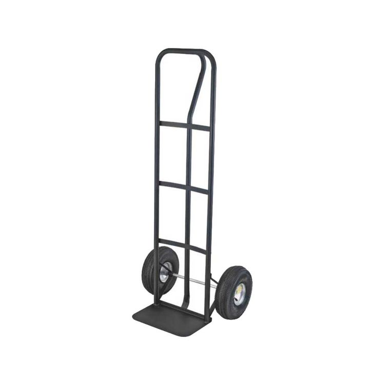 mintcraft ht 1805 heavy duty hand truck 600 lb 10 x 3 12 in pneumatic tires wheel versatile p handle handle - Heavy Duty Hand Truck