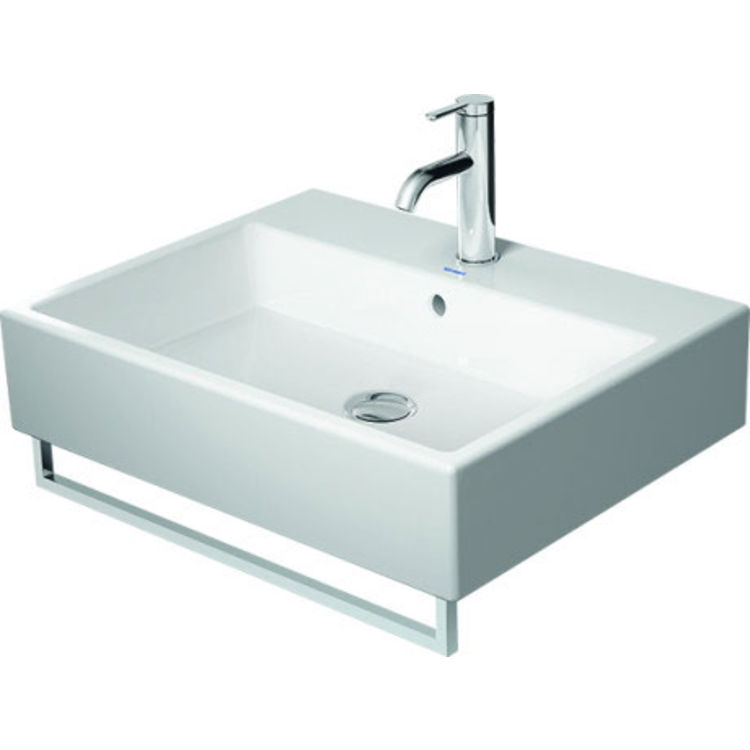 View 3 of Duravit 30371000 Duravit 0030371000 2nd Floor Towel Rail for Bathroom Sink 045460 and 235060 in Chrome