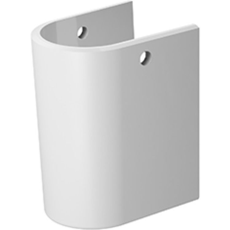 Duravit 8582600001 Duravit 08582600001 Darling New Siphon Cover for Handrinse Sink in White