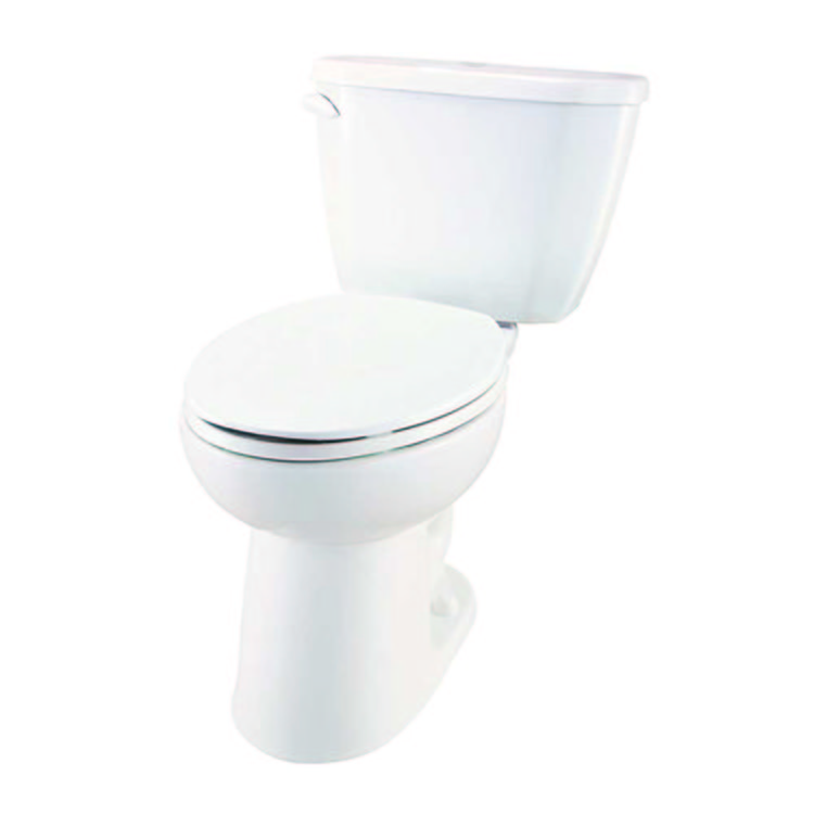 gerber he 21 519 viper two piece compact elongated ergoheight toilet. Black Bedroom Furniture Sets. Home Design Ideas