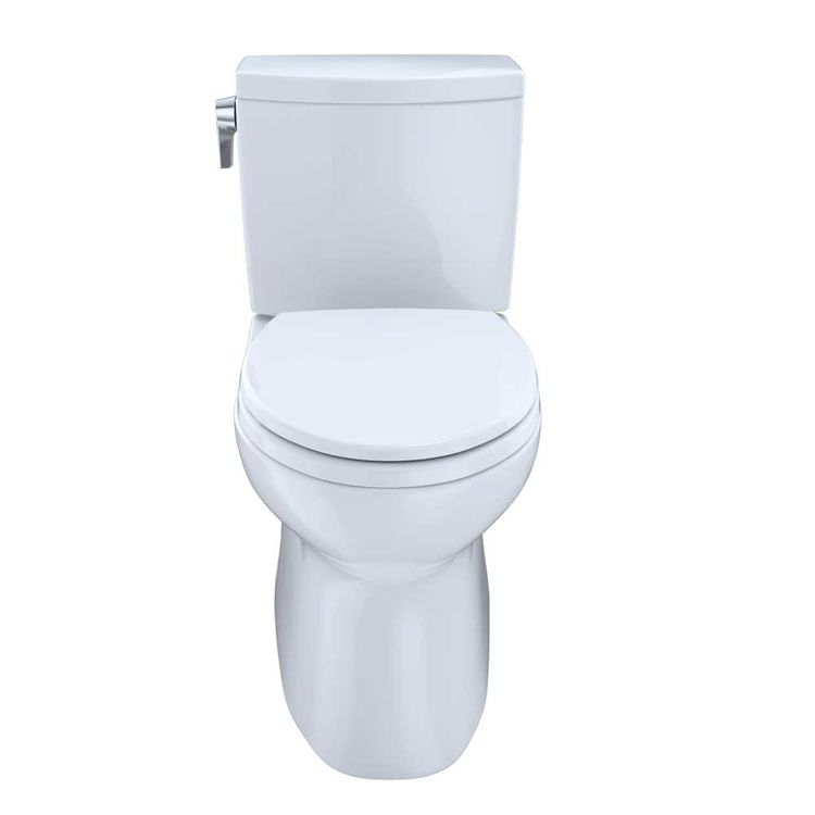 View 3 of Toto CST474CUFRG#01 TOTO Vespin II 1G Two-Piece Elongated 1.0 GPF Universal Height Skirted Toilet with CeFiONtect and Right-Hand Trip Lever, Cotton White - CST474CUFRG#01