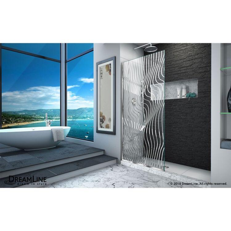 View 4 of Dreamline D3234721M11-08 DreamLine D3234721M11-08 Platinum Linea Surf 34