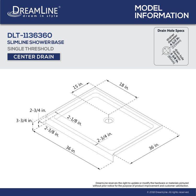 View 11 of Dreamline DL-6216C-88-01 DreamLine DL-6216C-88-01 Flex 36