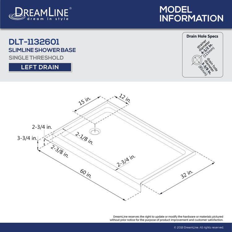 View 13 of Dreamline DL-6521L-22-01 DreamLine DL-6521L-22-01 Aqua Ultra 32