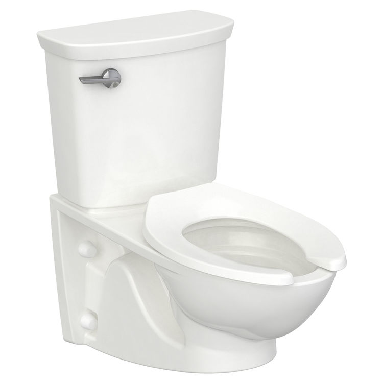 View 3 of American Standard 2882.107.020 American Standard 2882.107.020 Glenwall VorMax Wall Hung Elongated Complete Toilet - White