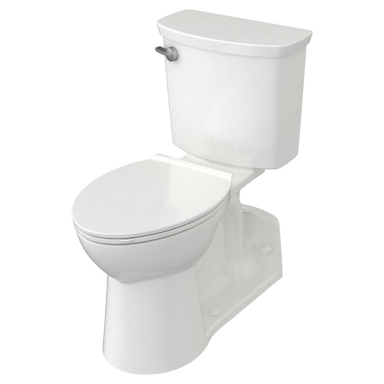 View 3 of American Standard 209AA137.020 American Standard Yorkville 209AA.137.020 White VorMax 1.28 GPF Elongated Toilet