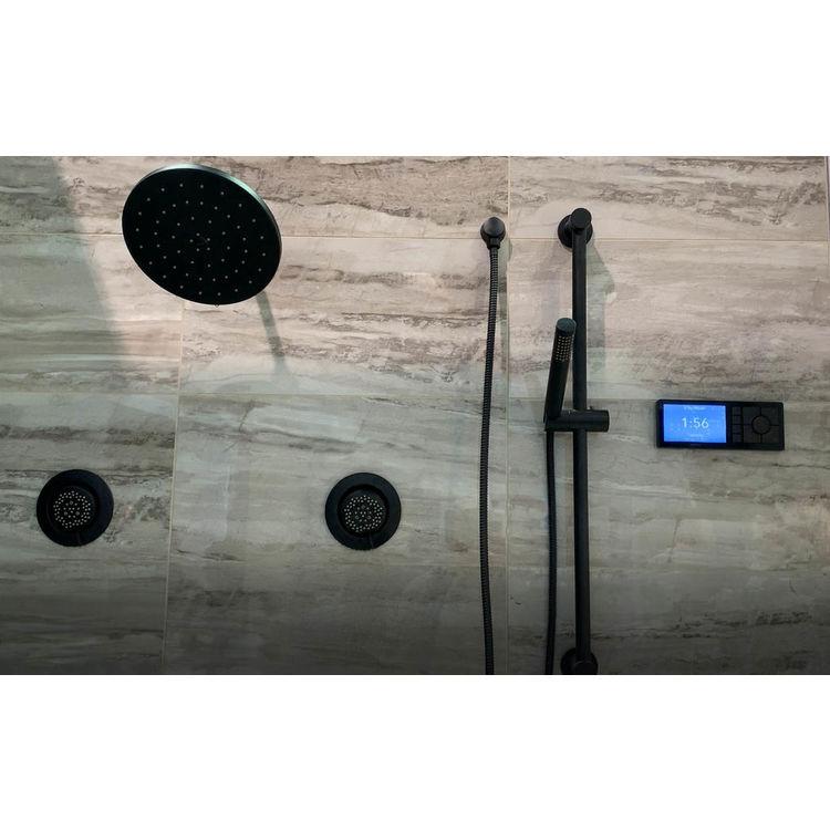 View 4 of Moen TS3302BL Moen TS3302BL U by Moen Two-Outlet Digital Shower Controller - Matte Black