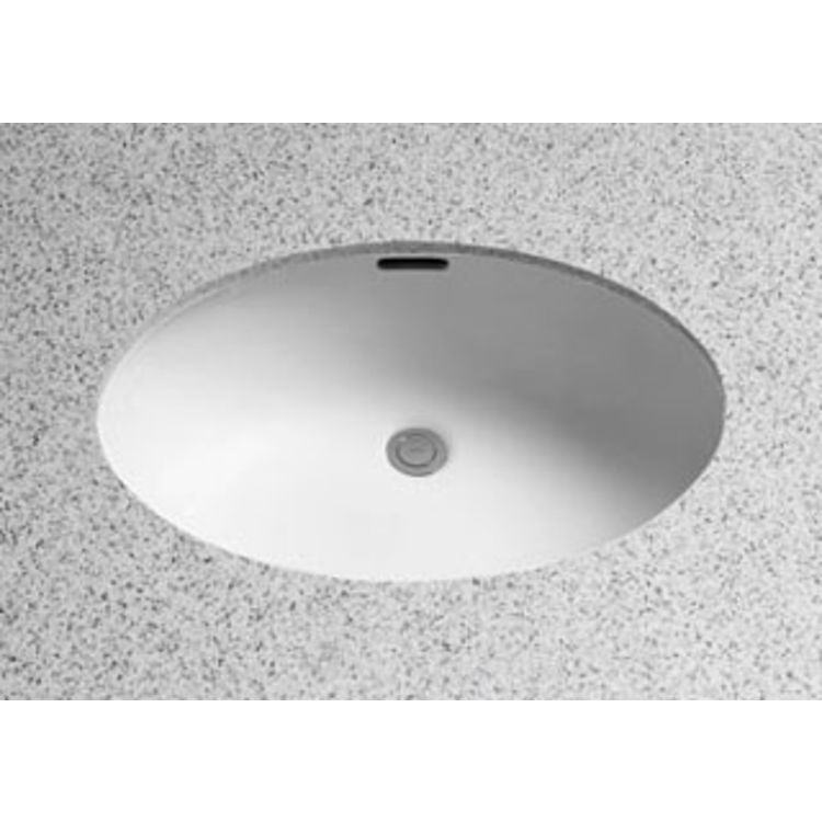 Toto LT548G#11 Toto LT548G Colonial White Undercounter Lavatory with SanaGloss ADA