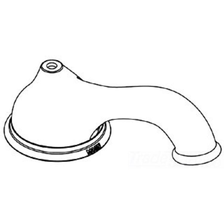 Moen 115335P Moen 115335P Kingsley Spout Kit, Polished Brass