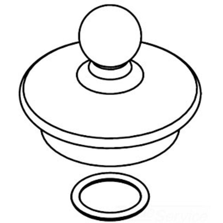Moen 116630ORB Moen 116630ORB Part Spout Cap, Roman Tub
