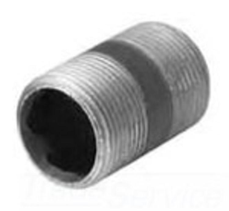 Commodity  Black Iron Nipple, 3/8