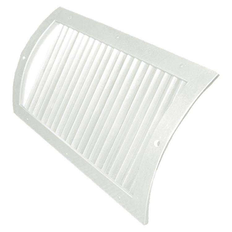 G soft white radius spiral pipe diffuser single