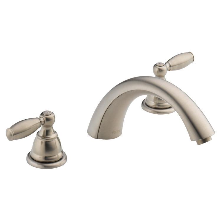 Peerless Ptt298696 Bn Apex Brushed Nickel Roman Tub Faucet Trim