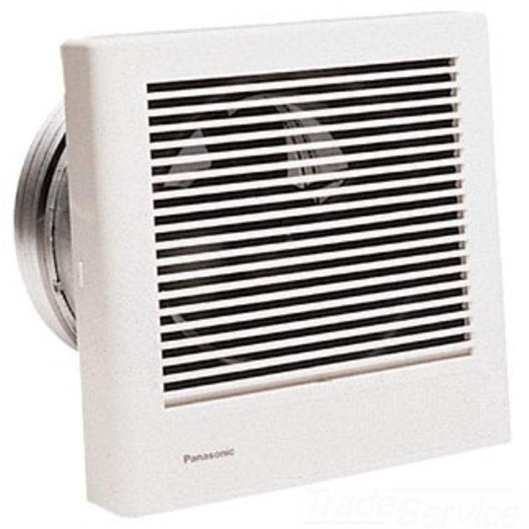 Bathroom Exhaust Fans Wall Mount : Panasonic fv wq cfm whisperwall wall mounted