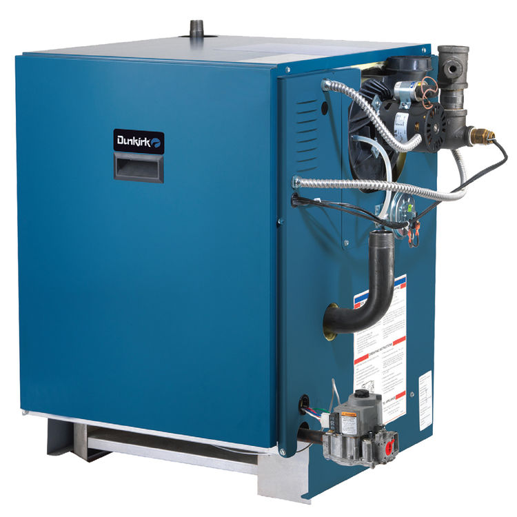 Dunkirk xeb 2 cast iron propane boiler with grundfos pump for Best propane heating systems