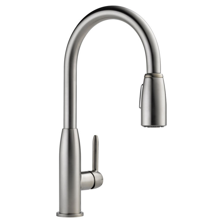 Peerless P188103lf Ss Apex Stainless One Handle Pulldown